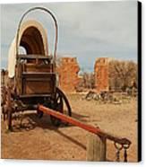 Pionner Wagon Canvas Print