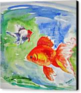 Pisces Canvas Print by Shakhenabat Kasana