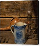 Pitcher Cup And Lamp Canvas Print