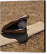 Pitchers Mound Canvas Print by Bill Cannon