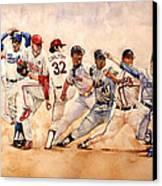 Pitching Windup  Canvas Print