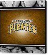 Pittsburgh Pirates Canvas Print by Joe Hamilton