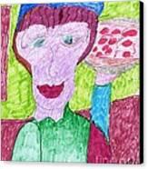 Pizza Anyone Canvas Print by Elinor Rakowski