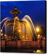 Place De La Concorde Canvas Print by Midori Chan
