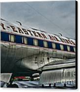 Plane Fly Eastern Air Lines Canvas Print