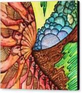 Planet Storage Canvas Print by Mike Lechevet