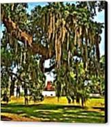 Plantation Oil Canvas Print