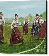 Play Of Yesterday Canvas Print