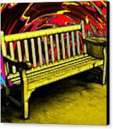 Please Be Seated Canvas Print by Wendy J St Christopher