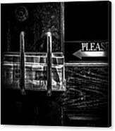 Please Canvas Print