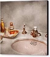 Plumber - First Thing In The Morning Canvas Print by Mike Savad