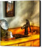 Plumber - The Wash Basin Canvas Print