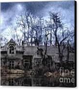 Plunkett Mansion Canvas Print