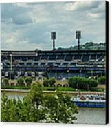 Pnc Park Pittsburgh Pirates Canvas Print by Angelo Rolt