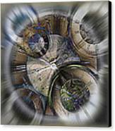 Pocketwatches 2 Canvas Print by Steve Ohlsen