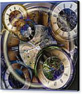 Pocketwatches Canvas Print by Steve Ohlsen