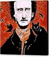 Poe Poe Canvas Print by Tyler Schmeling