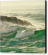 Point Lobos Surf Canvas Print