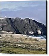 Point Sur And Lighthouse Canvas Print by Elery Oxford