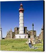Pointe Saint Mathieu Brittany France Canvas Print by Colin and Linda McKie