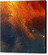 Points Of Light Abstract Art By Sharon Cummings Canvas Print by Sharon Cummings