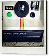 Polaroid Camera.  Canvas Print