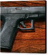 Police - Gun - The Modern Gun  Canvas Print