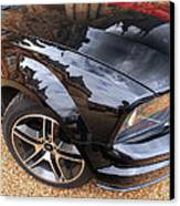 Polished To Perfection - Mustang Gt Canvas Print by Gill Billington