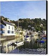 Polperro Cornwall England Canvas Print by Colin and Linda McKie