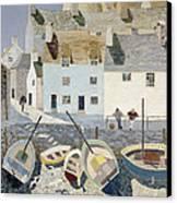 Polperro Canvas Print by Eric Hains