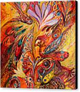 Polyptich Part IIi - Fire Canvas Print
