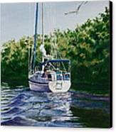 Ponce De Leon Passage Canvas Print