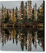 Pond Reflections Canvas Print by Paul Freidlund