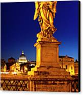 Ponte Sant Angelo Canvas Print