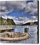 Pontsticill Reservoir 2 Canvas Print by Steve Purnell