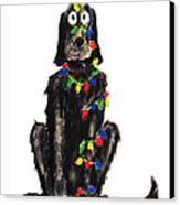 Poor Jack Christmas Lights Canvas Print by Ellen Howell