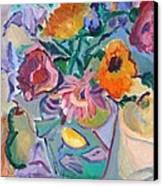 Poppies Canvas Print by Brenda Ruark