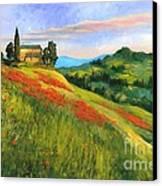 Poppy Hill Canvas Print
