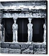 Porch Of The Caryatids Canvas Print