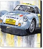 Porsche 550 Coupe 154 Carrera Panamericana 1953 Canvas Print by Yuriy  Shevchuk