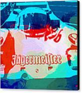 Porsche 956 Jagermeister Canvas Print by Naxart Studio