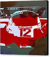 Porsche Le Mans Canvas Print by Naxart Studio
