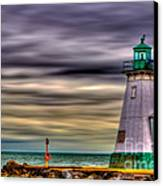 Port Dalhousie Lighthouse Canvas Print by Jerry Fornarotto