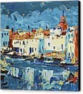 Port De Bizerte Canvas Print
