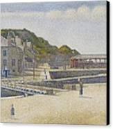 Port En Bessin Canvas Print