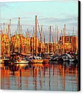 Port Vell - Barcelona Canvas Print
