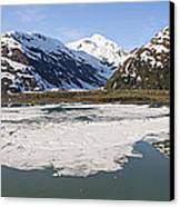 Portage Lake Panorama Canvas Print
