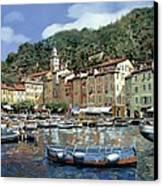 Portofino Canvas Print by Guido Borelli