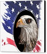 Portrait Of America Canvas Print by Tom Mc Nemar