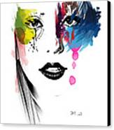 Portrait Of Colors   Canvas Print by Mark Ashkenazi